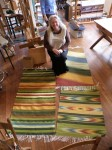 3 Green Rugs